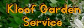 Kloof Garden Service
